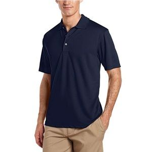 PGA Tour | Short Sleeve Airflux Solid Polo Shirt